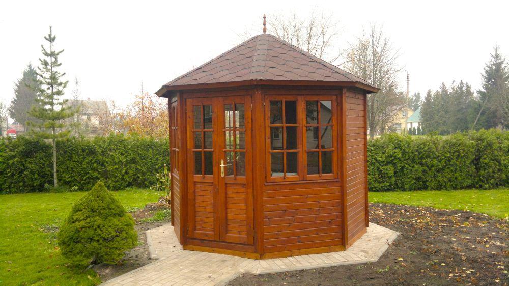 Kiosque octogonal MARGARITA en bois traité