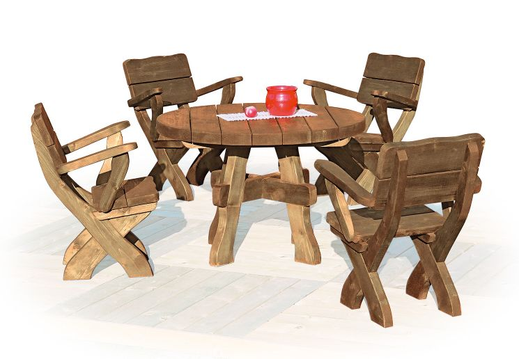 Stunning Table De Jardin Bois Rustique Gallery - Amazing House ...