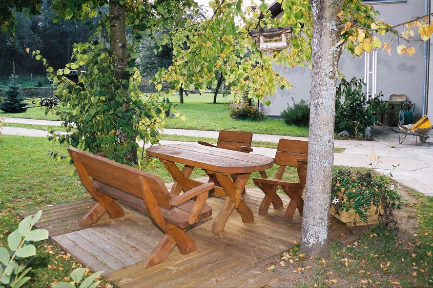 Salon de jardin en bois massif – Salon de jardin du style ...