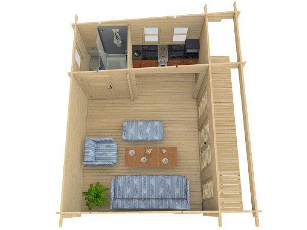 Bureau de jardin brut embo ter sydni 19 for Bureau de jardin en bois
