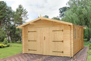 chalet en kit - Construire Un Garage En Bois 20m2