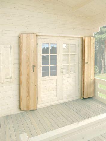 volet exterieur bois affordable fenestore pose de volets coulissants aluminium vitrolles. Black Bedroom Furniture Sets. Home Design Ideas